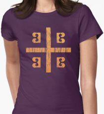 Camiseta entallada Bandera de Bizancio