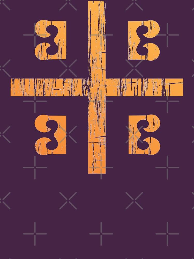 Bandera de Bizancio de quark