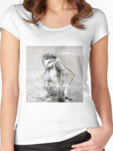 No Title 45 Women's Fitted Scoop T-Shirt