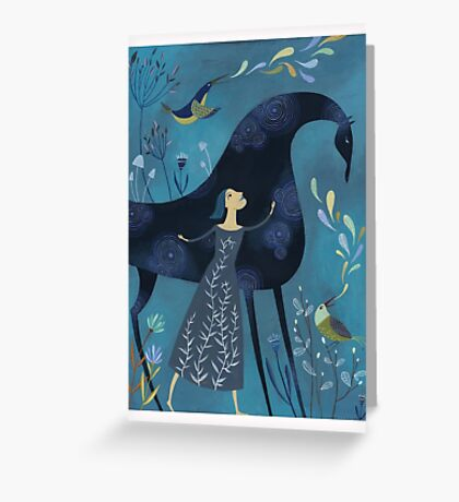 I Am Watched Over Greeting Card