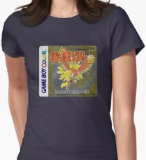 Pokemon Gold  Women's Fitted T-Shirt