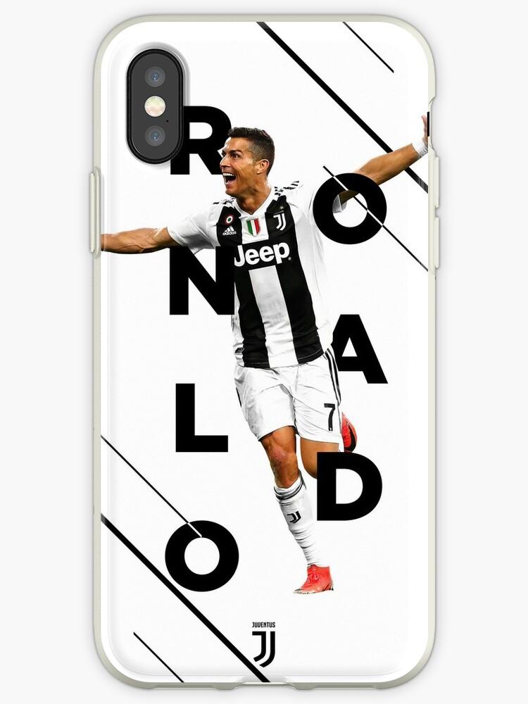 official photos a8def a5e46 'Cristiano Ronaldo - Juventus F.C.' iPhone Case by iamjasonpun