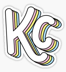 Retro KC (Pastel) Sticker