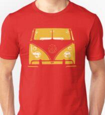 VW Kombi Yellow Design T-Shirt