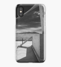 On the roof of Le Corbusier's Unité d'Habitation in Marseille - 4 iPhone Case/Skin