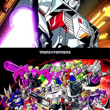 Transformator Megatron und Decepticons von thatyoungyork