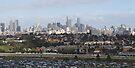 Melbourne From Ferris Wheel by Emma Holmes