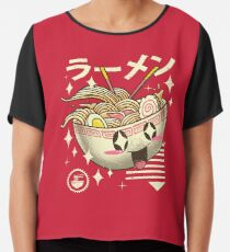 Kawaii Ramen Chiffon Top