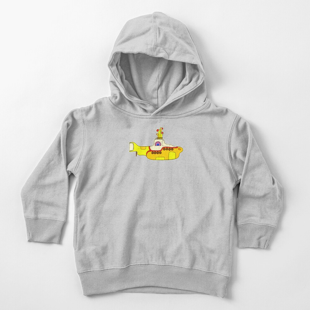Yellow Submarine Toddler Pullover Hoodie