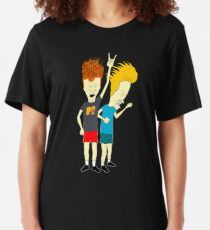 Beavis and Butt-Head Slim Fit T-Shirt