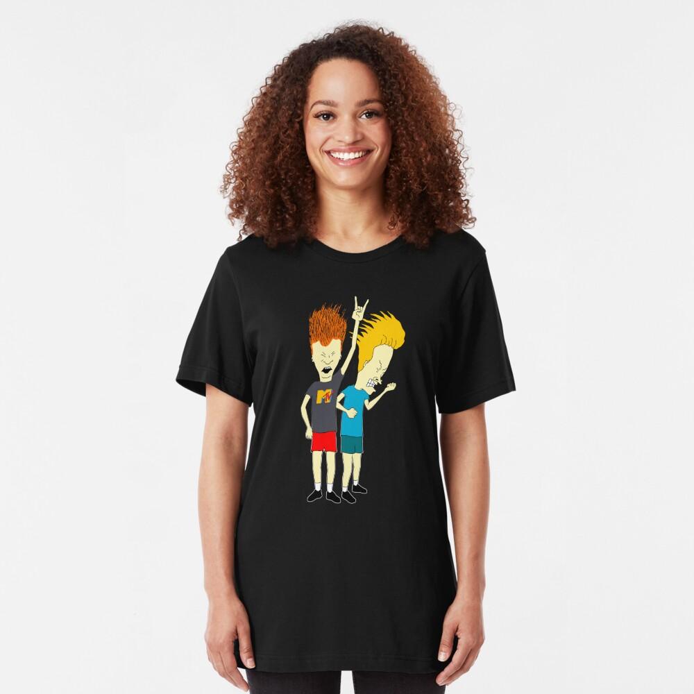 Beavis and Butt-Head Camiseta ajustada