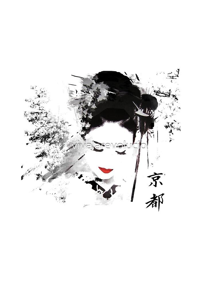 Kyoto Geisha von vivalarevolucio