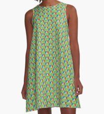 Bicycle Day T-shirt - 1943 Vintage (Albert Hofmann LSD) A-Line Dress