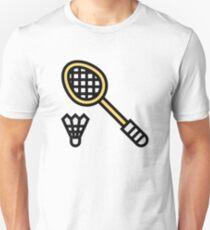 Badminton Slim Fit T-Shirt