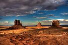 The Mittens of Monument Valley by Bill Wetmore