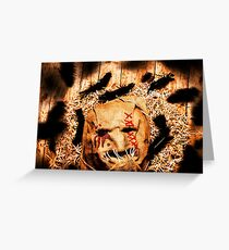 The barn monster Greeting Card