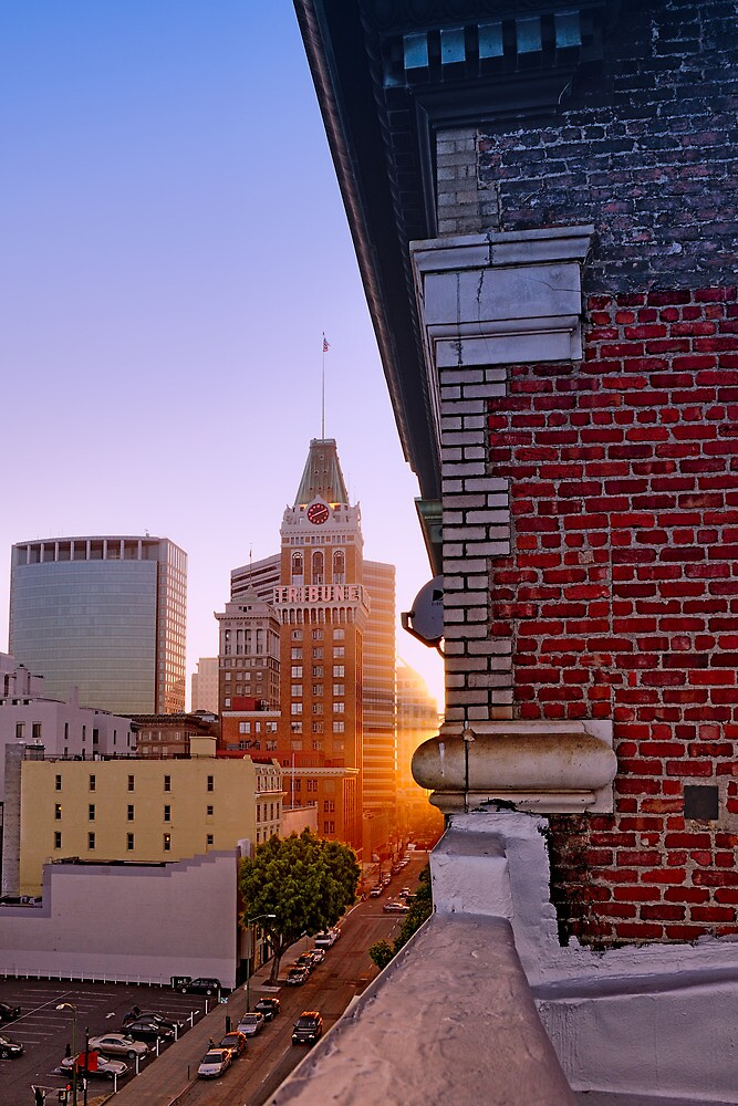 13th Street View, Oakland, California by Cathy P. Austin