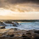 Garie Beach, NSW, Australia seascape  by Andrew Croucher