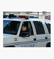 To Protect and Serve Photographic Print