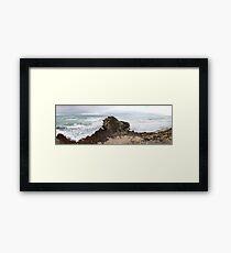 Limestone Coast Framed Print