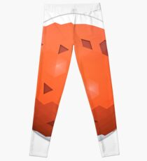 Low Poly Solar System - Mars Standalone Leggings