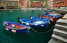 Vernazza Boats by Inge Johnsson