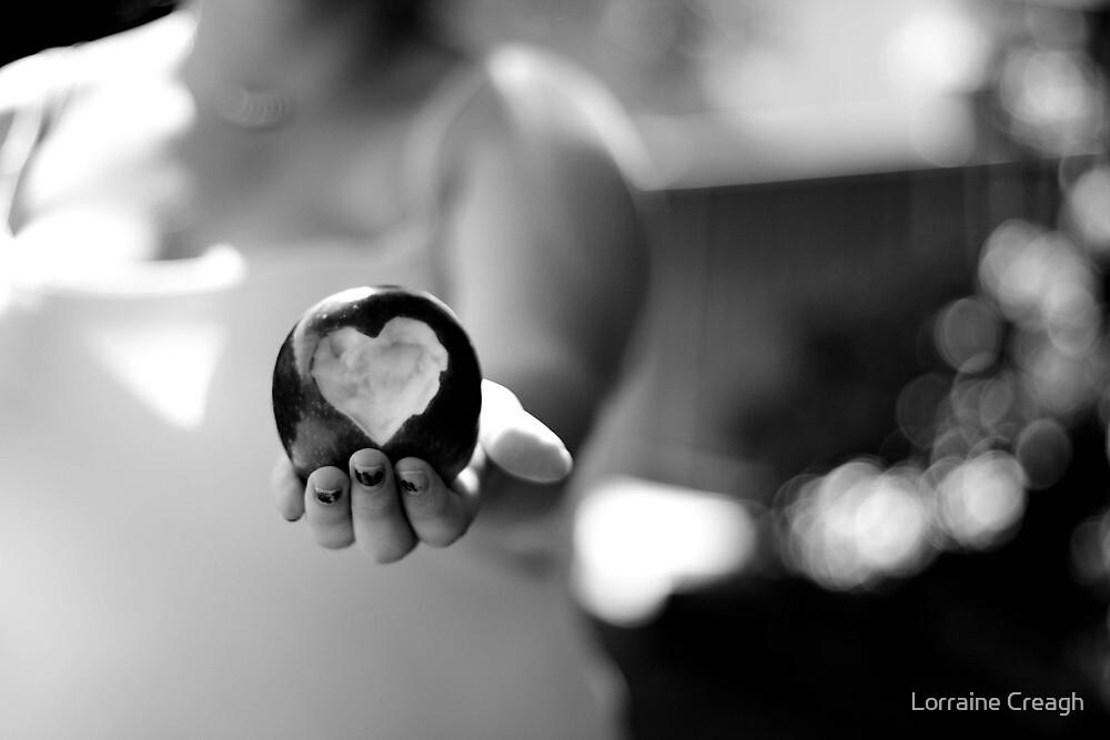 Love Bite  ~  For my Valentine by Lorraine Creagh