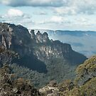 Three Sisters, Blue Mountains, Australia by Andrew Croucher