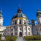 Germany. Ettal. Ettal Abbey. by vadim19