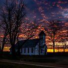 Asbury Church Sunset by thestormworks