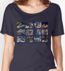 Hurmerinta Red Sea Sealife Collage 3 Women's Relaxed Fit T-Shirt
