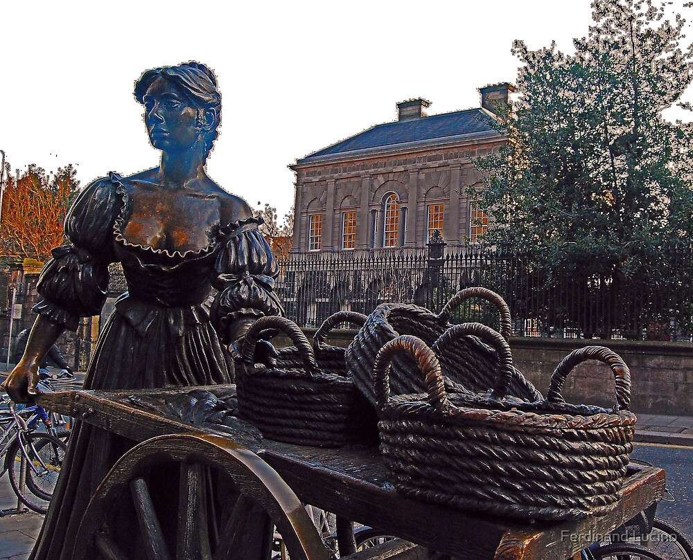 Cockles And Mussles -Molly Malone -Ireland by Ferdinand Lucino