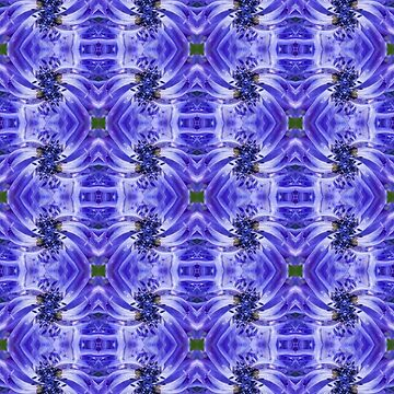 Blue Flower Seamless Pattern I by shane22