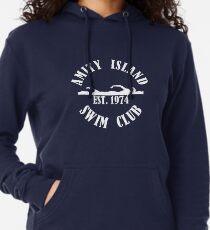 Amity Island Schwimmverein Weiß Leichter Hoodie