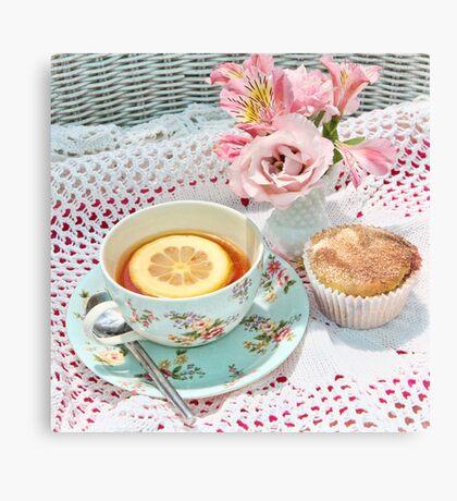 Afternoon Tea Canvas Print
