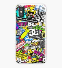 Stickerbomb apparal  JDM/EUROSTYLE iPhone Case