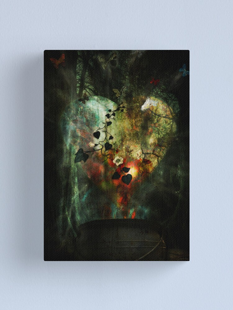 Alternate view of Heart of All Canvas Print