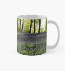 Bluebells in Lower Deans Wood, Oxfordshire Mug