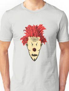 Evil Clown Hand Draw Illustration Unisex T-Shirt