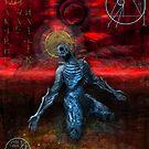 Gold god - anima  by mistercadaver