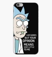 Rick - opinion iPhone Case