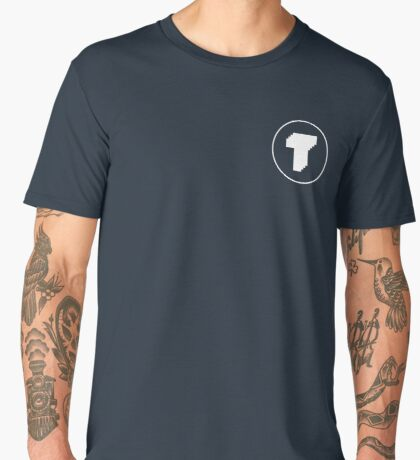 Tegnemaskin Circle T Men's Premium T-Shirt