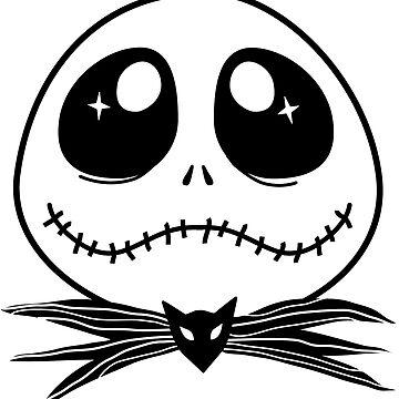 La pesadilla antes de Navidad - Cute Jack Skellington de ohlovelypop