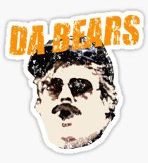 Retro Da Bears Parody Sticker