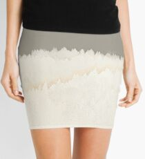 Pale Forest Abstract Mini Skirt