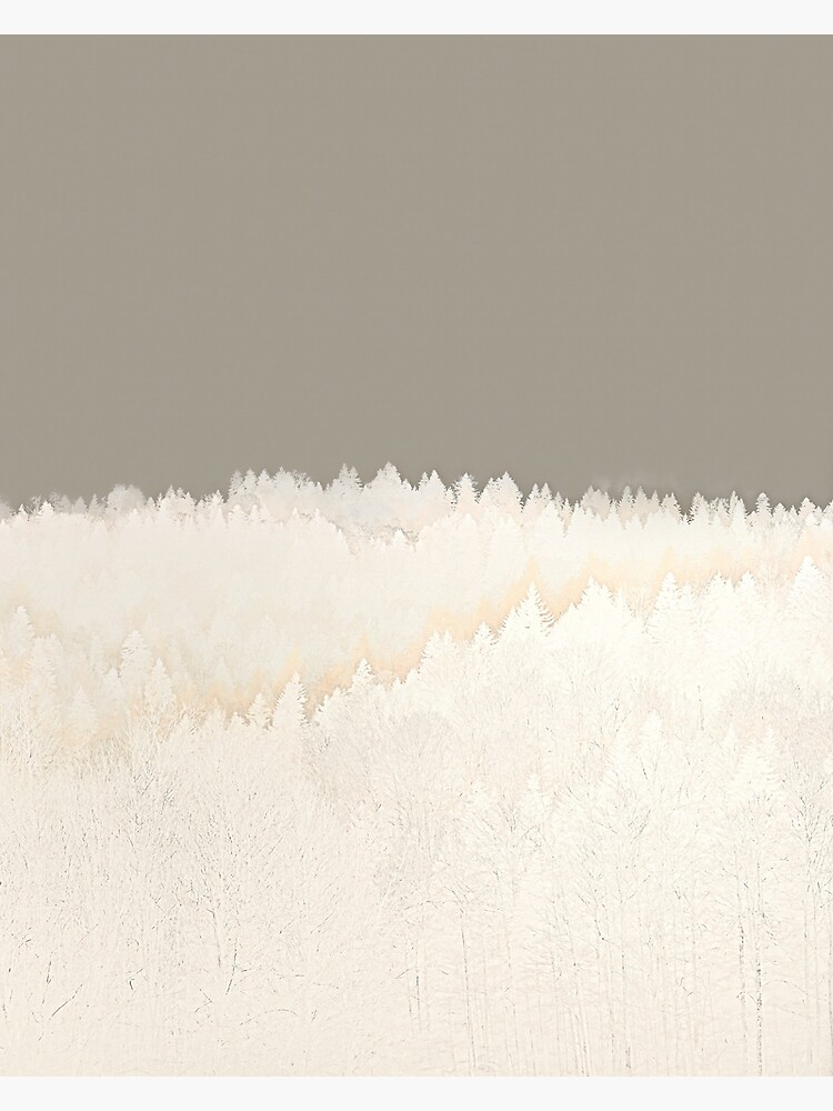Pale Forest Abstract by MenegaSabidussi