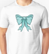 Blue Bow Unisex T-Shirt