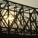 "Bridge Silhouette Lines by "" RiSH """