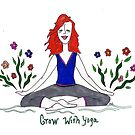 Grow with Yoga by Deb Coats
