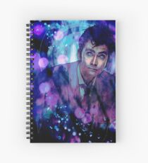 The Tenth Doctor Spiral Notebook